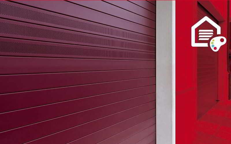 Puestas enrollables - Color rojo